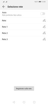 Huawei P30 - Rete - Selezione manuale della rete - Fase 11