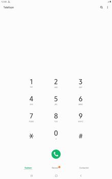 Samsung galaxy-tab-a-10-5-sm-t595-android-pie - Beveiliging en ouderlijk toezicht - Nummer blokkeren - Stap 4
