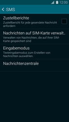 Samsung Galaxy S5 Mini - SMS - Manuelle Konfiguration - 7 / 10