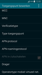 Samsung Galaxy Alpha (G850F) - Internet - Handmatig instellen - Stap 11