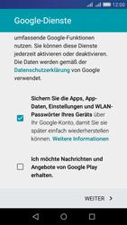 Huawei Y6 - Apps - Konto anlegen und einrichten - Schritt 16