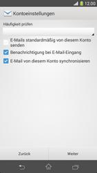 Sony Xperia Z1 Compact - E-Mail - Manuelle Konfiguration - Schritt 17
