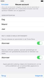 Apple iPhone 6 Plus (Model A1524) - Applicaties - Account aanmaken - Stap 18