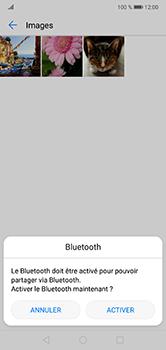 Huawei P20 lite - Photos, vidéos, musique - Envoyer une photo via Bluetooth - Étape 8