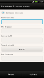 HTC One X - E-mail - Configuration manuelle - Étape 12