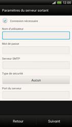 HTC One X Plus - E-mail - Configuration manuelle - Étape 12