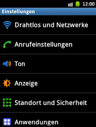 Samsung Galaxy Pocket - Internet und Datenroaming - Manuelle Konfiguration - Schritt 4