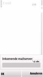 Nokia 5230 - e-mail - handmatig instellen - stap 14