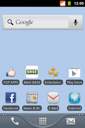 BASE Varia - SMS - Manuelle Konfiguration - Schritt 1