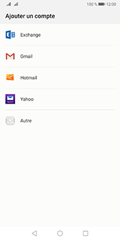 Huawei Mate 10 Pro Android Pie - E-mail - 032b. Email wizard - Yahoo - Étape 4