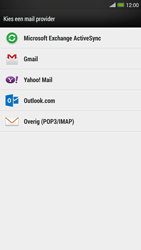 HTC One Max - E-mail - e-mail instellen: IMAP (aanbevolen) - Stap 5