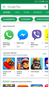 Samsung Galaxy J7 (2017) - Applications - Télécharger des applications - Étape 5