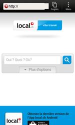 HTC One SV - Internet et roaming de données - Navigation sur Internet - Étape 14