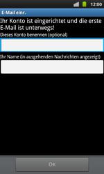 Samsung I9001 Galaxy S Plus - E-Mail - Konto einrichten - Schritt 14