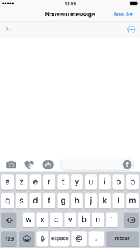 Apple Apple iPhone 6 Plus iOS 10 - iOS features - Envoyer un iMessage - Étape 8