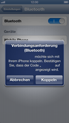 Apple iPhone 5 - Bluetooth - Geräte koppeln - 8 / 10