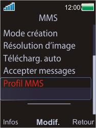 Sony W595 - MMS - Configuration manuelle - Étape 6