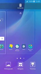 Samsung Samsung Galaxy J3 2016 - Startanleitung - Installieren von Widgets und Apps auf der Startseite - Schritt 4