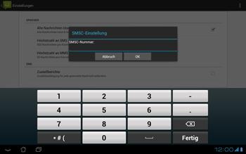 Asus Padfone - SMS - Manuelle Konfiguration - Schritt 7