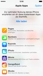 Apple iPhone 5c - Apps - Einrichten des App Stores - Schritt 3