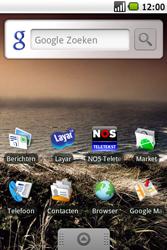Samsung I7500 Galaxy - SMS - handmatig instellen - Stap 1