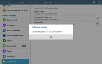 Samsung T535 Galaxy Tab 4 10-1 - Software updaten - Update installeren - Stap 10