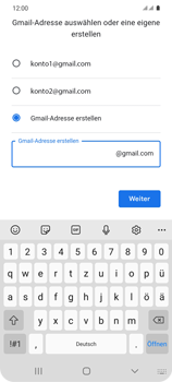 Samsung Galaxy S20 5G - Apps - Einrichten des App Stores - Schritt 12