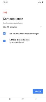 Samsung Galaxy S20 5G - E-Mail - Manuelle Konfiguration - Schritt 20