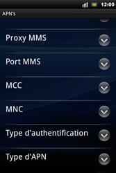 Sony Xperia Mini Pro - MMS - Configuration manuelle - Étape 10