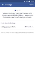 Samsung Galaxy S7 - Datenschutz und Sicherheit - Datenschutzeinstellungen von Facebook ändern - 8 / 35