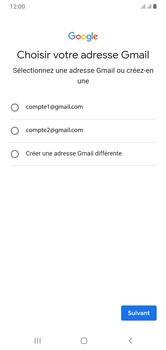 Samsung Galaxy A10 - Applications - Créer un compte - Étape 10