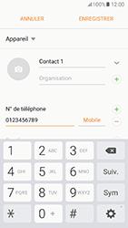 Samsung Galaxy A5 (2017) (A520) - Contact, Appels, SMS/MMS - Ajouter un contact - Étape 6