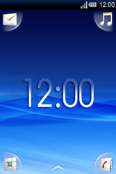Sony Ericsson Xperia X8 - E-mail - hoe te versturen - Stap 1
