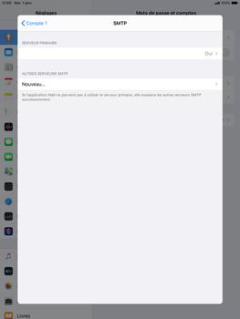 Apple ipad-10-2-7th-gen - E-mail - configuration manuelle - Étape 20
