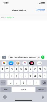 Apple iPhone X - iOS 12 - MMS - afbeeldingen verzenden - Stap 7