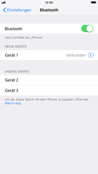 Apple iPhone 7 Plus - iOS 12 - Bluetooth - Geräte koppeln - Schritt 8
