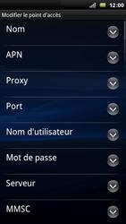 Sony Xperia Arc - Internet - Configuration manuelle - Étape 9