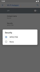 Nokia 8 - Android Pie - WiFi - How to enable WiFi hotspot - Step 10