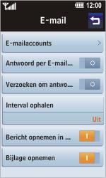 LG GC900 Viewty Smart - E-mail - handmatig instellen - Stap 5