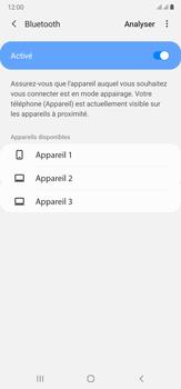 Samsung Galaxy Note20 Ultra 5G - Internet et connexion - Connexion avec un équipement multimédia via Bluetooth - Étape 8