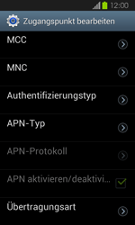 Samsung Galaxy Express - Internet und Datenroaming - Manuelle Konfiguration - Schritt 13