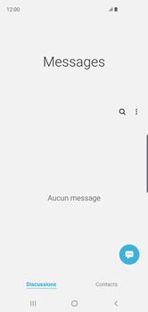 Samsung Galaxy S10 - Contact, Appels, SMS/MMS - Envoyer un SMS - Étape 5