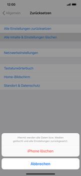 Apple iPhone XS Max - Fehlerbehebung - Handy zurücksetzen - Schritt 8