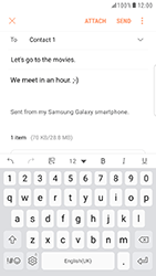 Samsung G935 Galaxy S7 Edge - Android Nougat - E-mail - Sending emails - Step 17