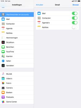 Apple iPad Mini 4 - iOS 12 - E-mail - e-mail instellen (gmail) - Stap 8