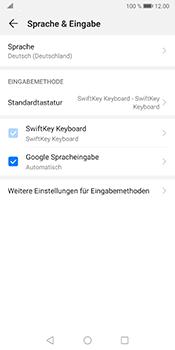 Huawei Mate 10 Pro - Android Pie - Startanleitung - So fügen Sie eine Tastatursprache hinzu - Schritt 5