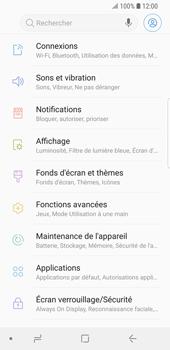 Samsung Galaxy S9 - Internet et roaming de données - Comment vérifier que la connexion des données est activée - Étape 4