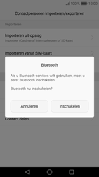 Huawei P9 (Model EVA-L09) - Contacten en data - Contacten overzetten via Bluetooth - Stap 10