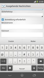 Sony Xperia M2 - E-Mail - Konto einrichten - Schritt 13