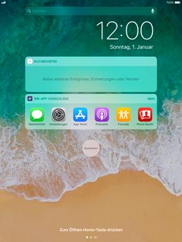 Apple iPad Pro 9.7 inch - iOS 11 - Sperrbildschirm und Benachrichtigungen - 4 / 9
